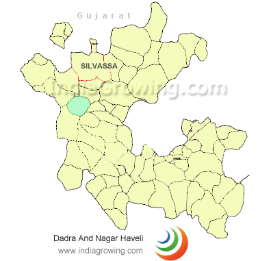 dadra and nagar haveli map