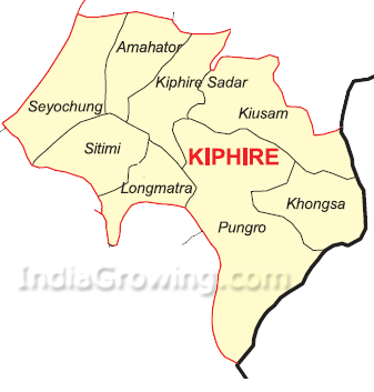 Kiphire District Map