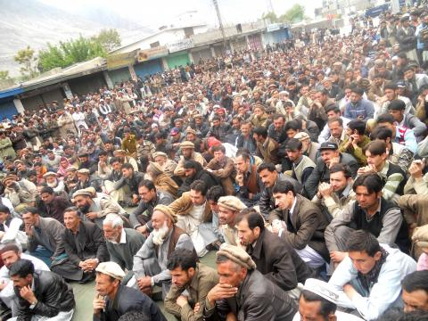 mass protests in pakistan occupied Gilgit