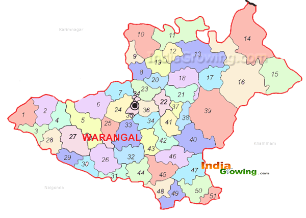 25+ Warangal District Map Pics - FreePix