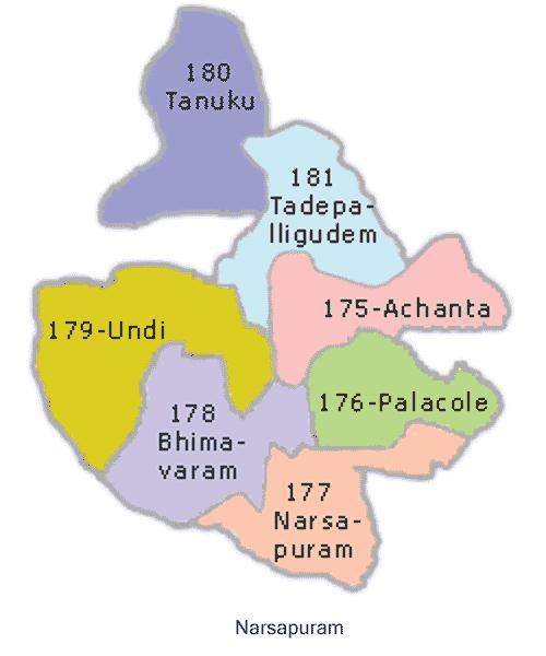 Narasapuram mandal in west godavari andhra pradesh narasapuram constituency thecheapjerseys Images