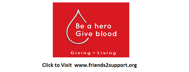 Visit to see Blood Donor