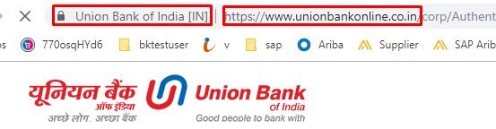 Union Bank Netbanking safety measures